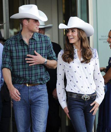 Prince William & Kate Middleton: Style, Canada, Royal Family, Katemiddleton, Kate Middleton, Prince William, Cowboy Hats, British Royal, Cambridge
