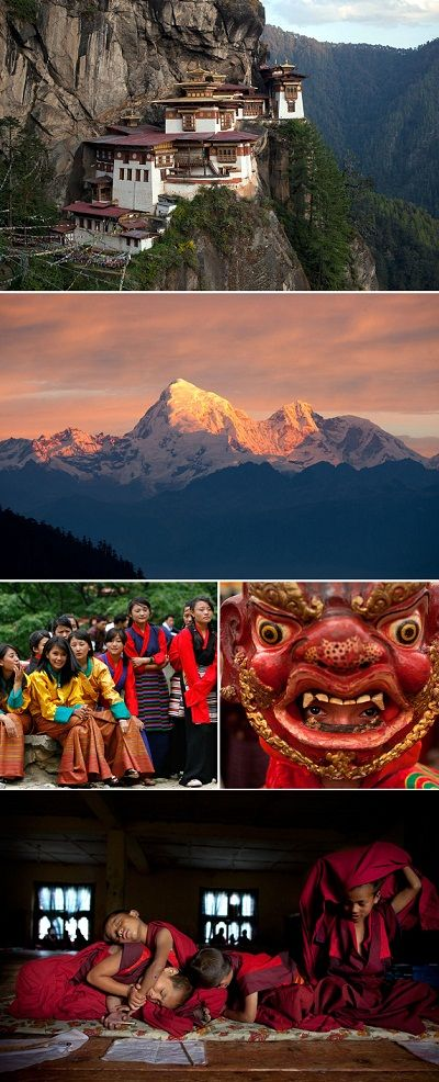 Kingdom of Bhutan- One of the happiest countries in the world.