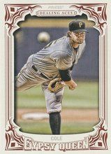 2014 Gypsy Queen Dealing Aces #DA-GC Gerrit Cole Pittsburgh Pirates