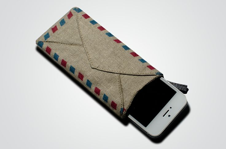 Dear Letter design by Henry&co, for Amblekodi.  #Dear #Letter #case #iPhone5 #iPhone5S #apple #smartphone #custodia #cellulare #hemp #textiles #tessuti #fibra di #Canapa 100% #Natural #Green #Eco #Bio