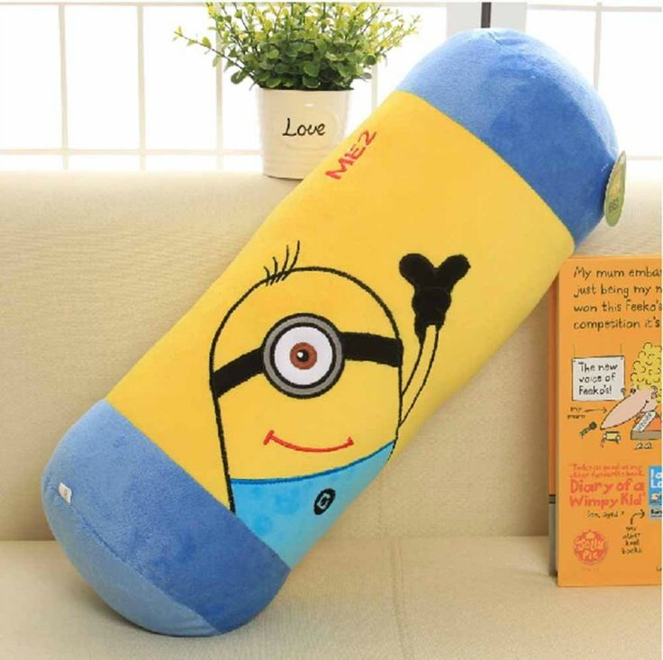 Kids Cute Minion Bedroom Decor From Deable Me Movie
