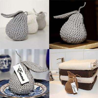 • узел • шить милый дизайн магазина: новая модель Вязание крючком - груша акцент Ким Миллер.