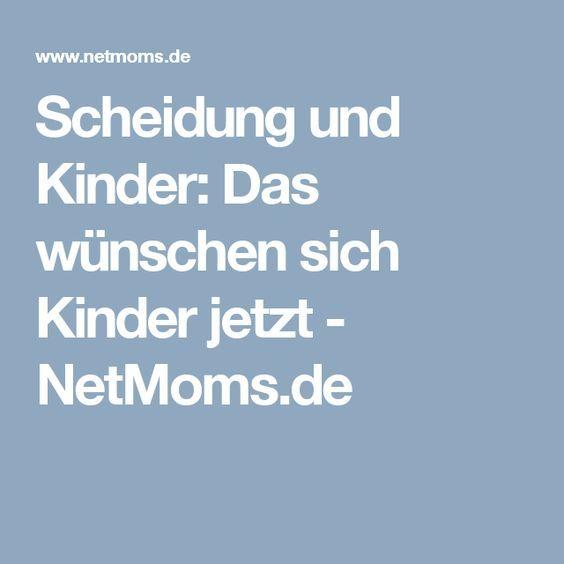 Scheidung und Kinder: Das wünschen sich Kinder jetzt - NetMoms.de