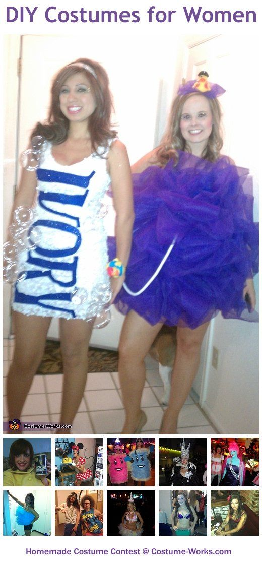 DIY Costumes for Women - some great Halloween costume ideas!