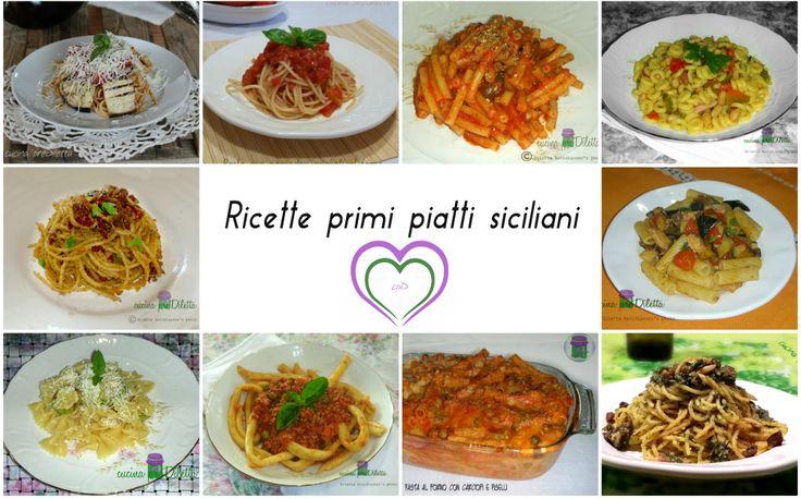 Ricette primi piatti siciliani, una raccolta di ricette per non dimenticare la tradizione. Amo molto la cucina della mia terra e, tutte le volte che posso..