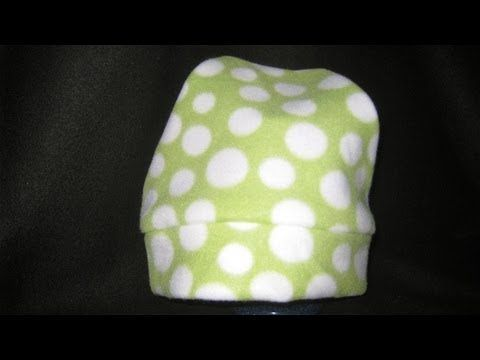 ▶ How to sew a Fleece Hat without a pattern - YouTube