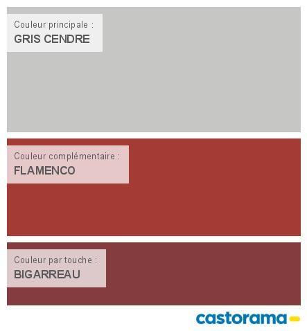 Castorama Nuancier Peinture - Mon harmonie Peinture GRIS CENDRE satin de COLOURS Respirea