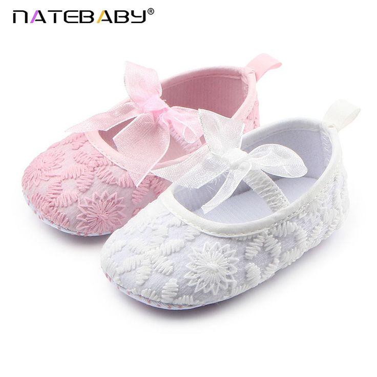 Natebaby Otoño Nuevo Fondo Blando Arco Bebé Zapatos de Bebé Zapatos de Niño Del Niño Del Bebé del Comercio Exterior Al Por Mayor D0684 NA1354