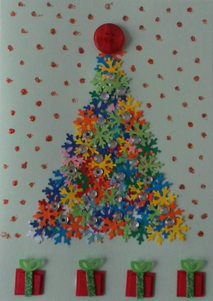Handmade warm wishes card for Christmas. #art #handmade #greetingcards #greetings #christmas #cristmastree #card #artist #artlover #design #milan #italy #lidiiart #lidiiaboichenkoart