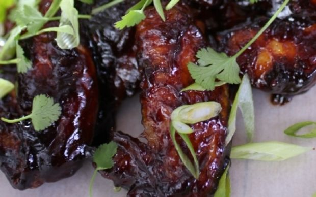 Sticky Chicken Winglets by Siba Mtongana (Chicken) @FoodNetwork_UK