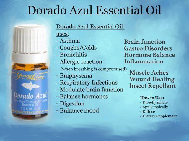 Dorado Azul Essential Oil www.hsoils.blogspot.com