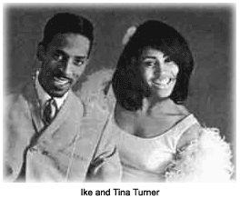 Ike & Tina Turner's wedding in 1962.
