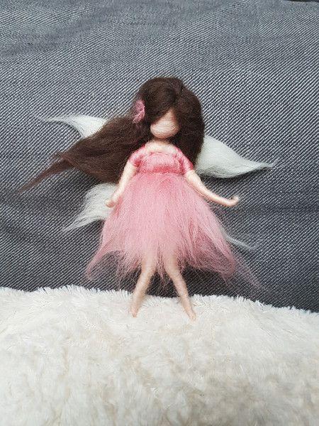 Fensterschmuck - Fee aus Märchenwolle  ♡ - ein Designerstück von Giodali bei DaWanda