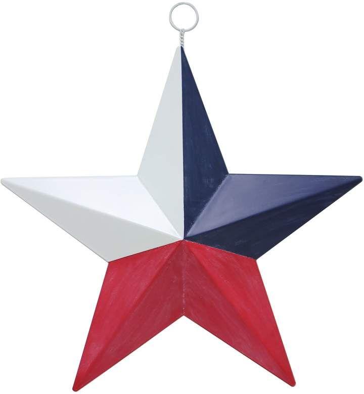Celebrate Americana Together Patriotic Texas Star Wall Decor
