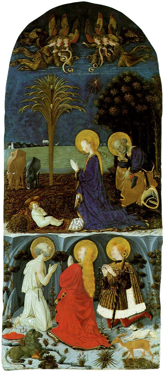 Adoration of the Child by Paolo Uccello