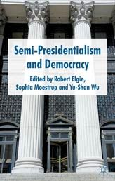 A 2011 edited volume with chapters on the concept of semi-presidentialism, regions, and countries