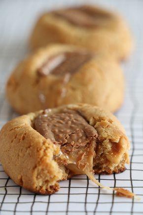 Fler recept på småkakor bla superenkla jordnötskakor med Dumle.