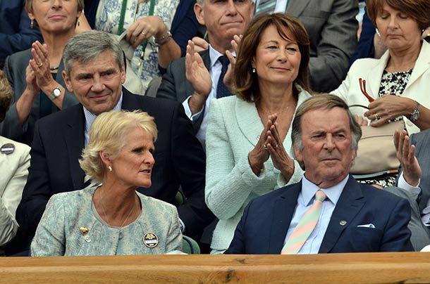 Carole Middleton made a stylish appearance at Wimbledon - hellomagazine.com