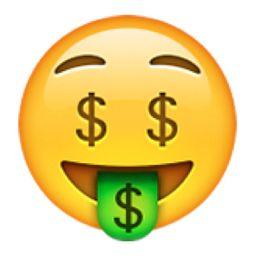 Money-Mouth Face Emoji (U+1F911)