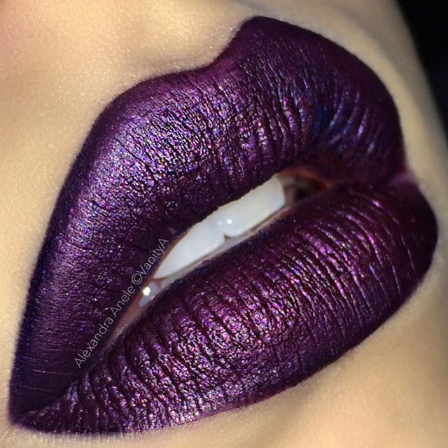 """Paint"" and ""Sad Girl"" liquid lipstick @alexandra_anele  #anastasiabeverlyhills"
