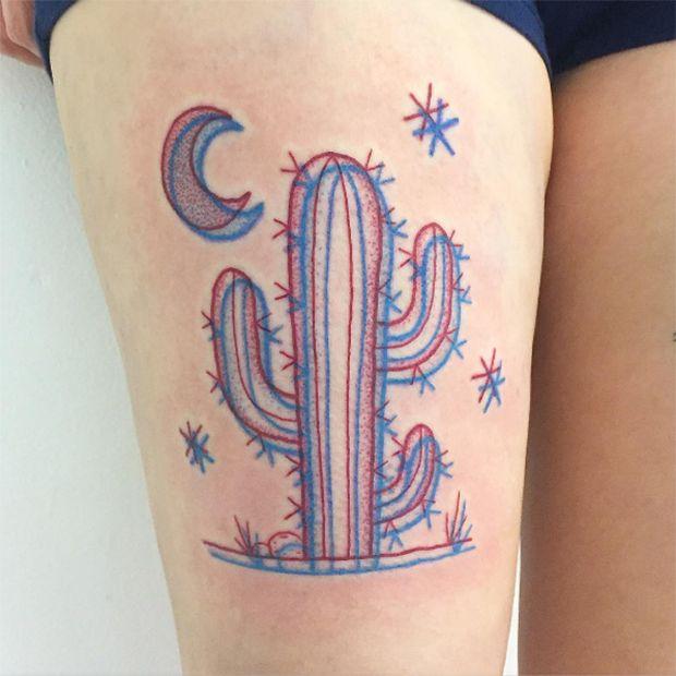 #tattoofriday - Tatuagens em 3D criadas pelo artista americano Winston the Whale;