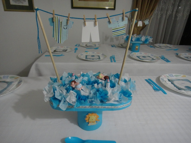 Centro de mesa para baby shower | Kids that I love | Pinterest