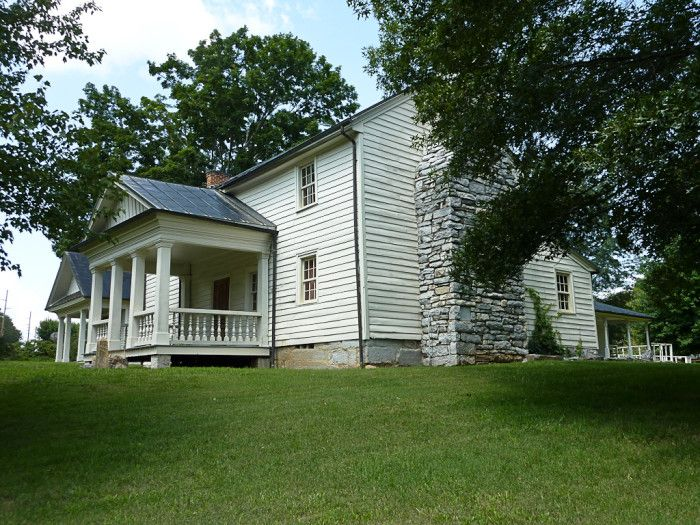 12) The Tipton-Haynes House in Johnson City is made up of 45 acres, a cemetery, a nature trail, more than ten historic buildings and a wonderful tour to tell you about it all. Colonel John Tipton, the namesake and original owner of the property, helped with the development of Tennessee.