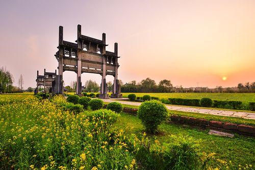 Tangyue Archway (Paifang Group), Huangshan city, China