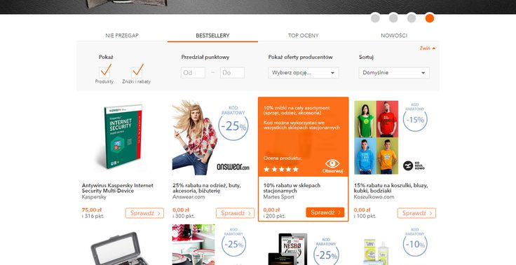 Interesting hoover on product box: call to action, rate, price, short description.