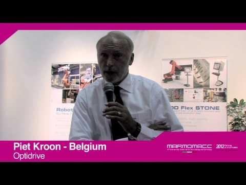 Marmomacc 2012: Piet Kroon interview (Optidrive, Belgium)