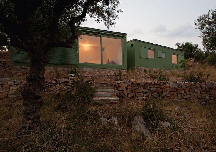 paan architects, Yiannis Hadjiaslanis · OLIV_ three vacation houses