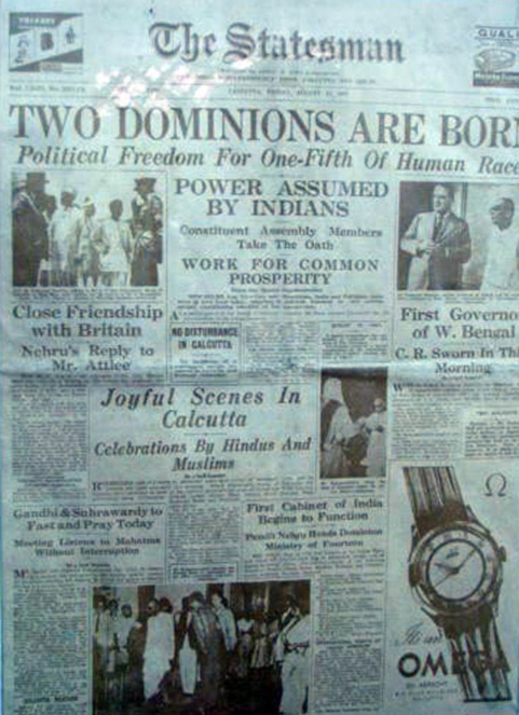 india independence 1947   Indian Independence:1947 August 15