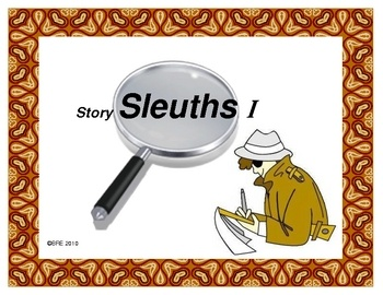 STORY SLEUTHS I is a 4 week, critical thinking project based on Caldecott Award winning books. After  reading a specific set of Caldecott books, students are given 1 week to solve clues that describe 1 of the books. Many levels of Bloom's Taxonomy are employed in this unit. Students also enjoy great literature, learn about artistic media, and participate in collaborative thinking.  $3