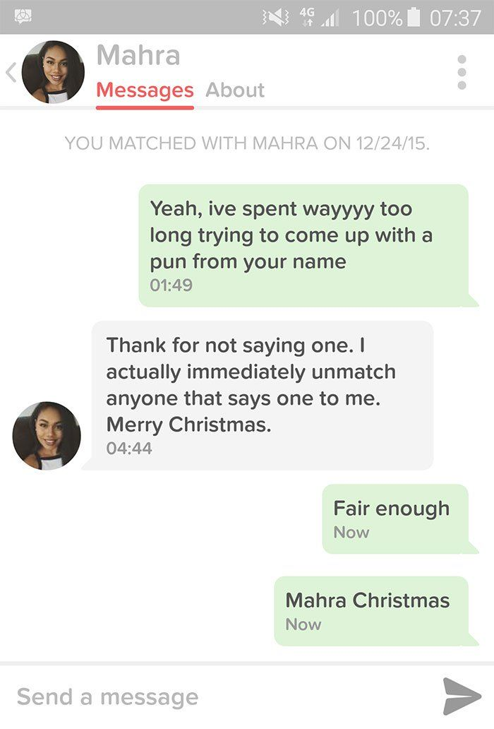 22 texts you send when dating someone new at christmas