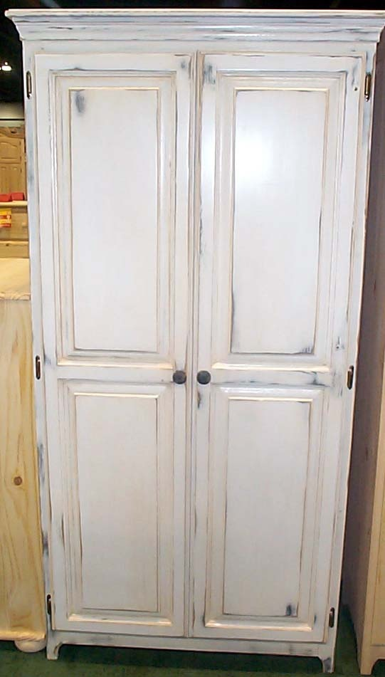 distressed armoire | Dream Home | Pinterest