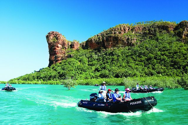 Orion Expedition Cruises in The Kimberleys