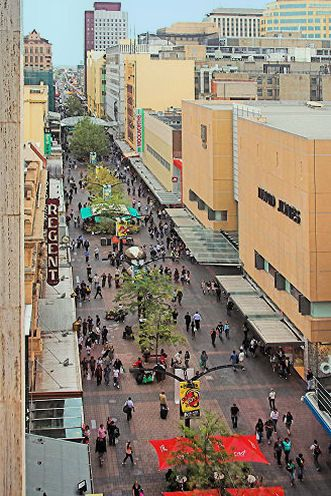 Adelaide Rundle mall • Adelaide's icons
