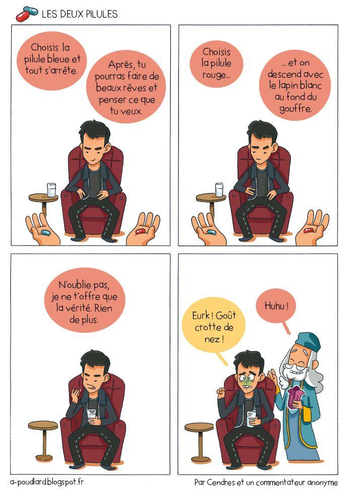 À Poudlard / At Hogwarts - Harry Potter Parody: Les deux pilules / The two pills