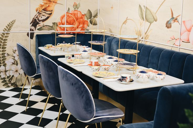 Read all about the splendid Wedgwood Tea Conservatory at Peter Jones