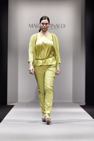 Russian Plus-size Girls  Marina Rinaldi SS-2014  f4de7d0ebb7