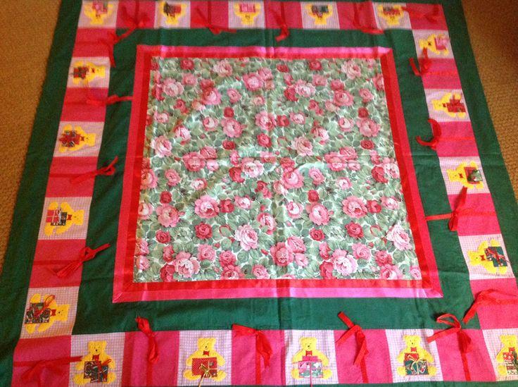 Mit første store jule tæppe
