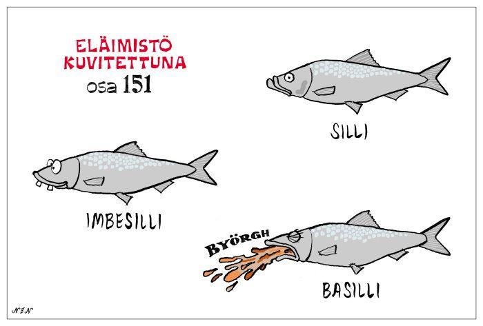 Eläinlajit 151