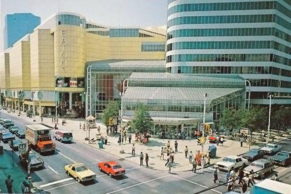 Eaton Centre Postcard