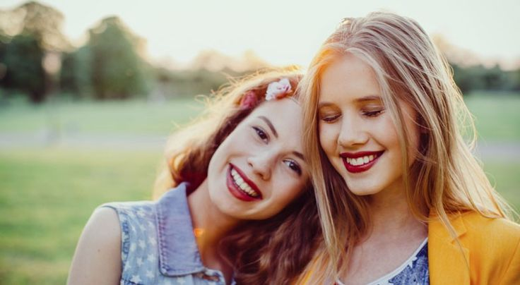 30 Signs Your Best Friend Has Reached Sister Status: No one thinks you're funny, except each other.