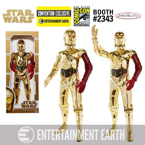 Star Wars: TFA Deluxe C-3PO Figure - Convention Exclusive