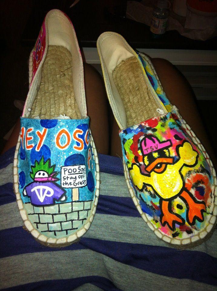 2b66270cf9689 Tarleton State University school spirit painted shoes! HEY OSCAR P | <3  Tailgate Toes | College fun, Tarleton state university, Painted shoes