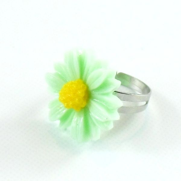 Anello Margherita Verde Menta only by Daffodil BIjoux