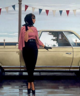 Jack Vettriano Paintings Imperfect Holding | Suddenly One Summer, Jack Vettriano Poster & Kunstdrucke bei Easyart ...