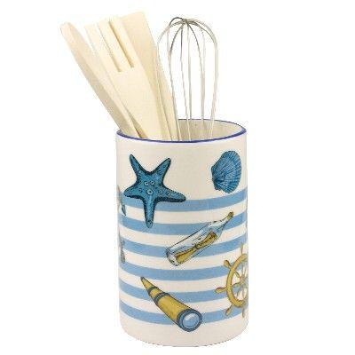 NA 52580 - Porta mestoli marinaro con Utensili da cucina - in Ceramica
