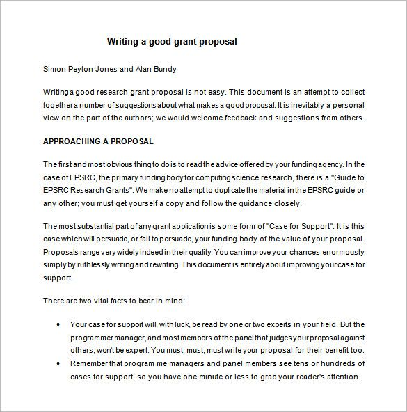 The 25+ best Proposal writing format ideas on Pinterest Hair - grant cover letter